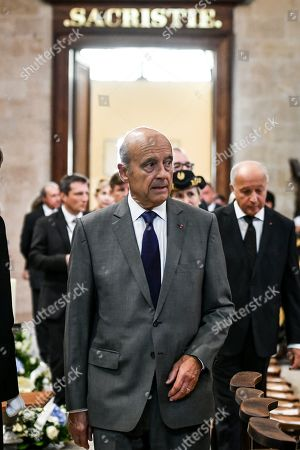 Editorial image of Funeral of Philippe Madrelle in Bordeaux, France - 02 Sep 2019