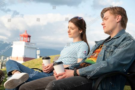 Farryn VanHumbeck as Jessica Hartley and Levi Meaden as Peter Landry