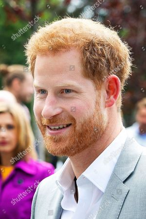 Prince Harry visit to Amsterdam