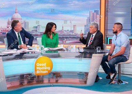Editorial photo of 'Good Morning Britain' TV show, London, UK - 03 Sep 2019
