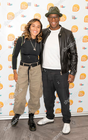 Chelcee Grimes and Ian Wright