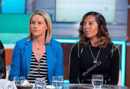 Kelly Smith and Chelcee Grimes.