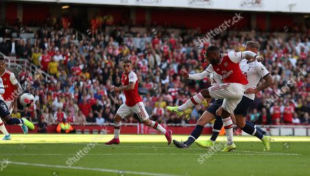 Editorial photo of Arsenal v Tottenham Hotspur, Premier League, Football, Emirates Stadium, London, UK - 01 Sep 2019