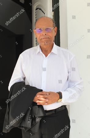 Editorial picture of Moncef Marzouki at home in Sousse, Tunisia - 27 Aug 2019