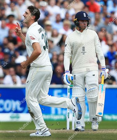 Editorial image of England v Australia, 4th Test, Day 5, Specsavers Ashes Series, Cricket, Old Trafford, Manchester, UK - 08 Sep 2019