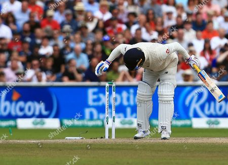 Editorial picture of England v Australia, 4th Test, Day 5, Specsavers Ashes Series, Cricket, Old Trafford, Manchester, UK - 08 Sep 2019