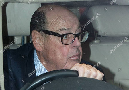 MP for Mid Sussex Nicholas Soames arrives at The Houses of Parliament.