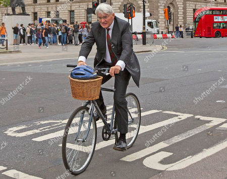 MP for Sutton Coldfield Andrew Mitchell arrives at Parliament