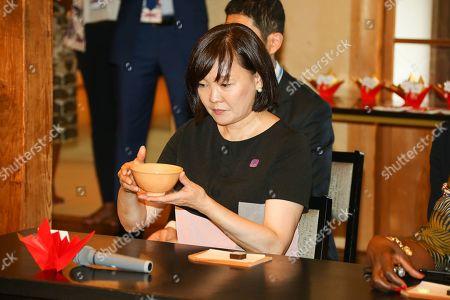 Akie Abe, wife of Japan's Prime Minister Shinzo Abe