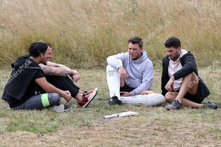 James Bennewith, Liam Gatsby, Tommy Mallet and Dan Edgar