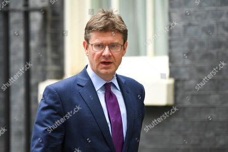 British Conservative Party lawmaker Greg Clark in Downing Street, London