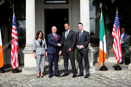 Editorial photo of US Vice President Visit, Dublin, Ireland - 03 Sep 2019