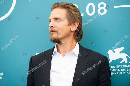 Barry Pepper poses for photographers at the photo call for the film 'The Painted Bird' at the 76th edition of the Venice Film Festival in Venice, Italy