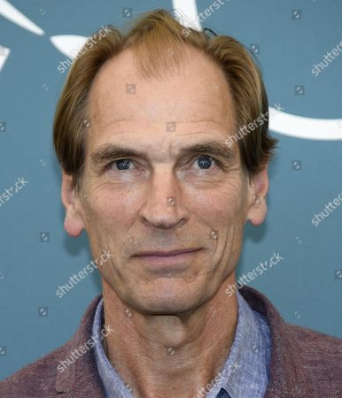 Julian Sands poses at a photo call for 'The Painted Bird' during the 76th annual Venice International Film Festival, in Venice, Italy, 03 September 2019. The movie is presented in the official competition 'Venezia 76' at the festival running from 28 August to 07 September.