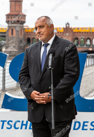 "Stock Image of Bulgarian Prime Minister Boyko Borissov attends a press conference with Christian Social Union (CSU) regional group chairman in the German parliament Bundestag Alexander Dobrindt (not pictured) during the CSU Bundestag faction convention ""#Kickoff"" in Berlin, Germany, 03 September, 2019. The event organized on the occasion of the opening of the second half of the political year and is expected to deal with issues like climate politics, mid-term review of the Grand Coalition (Groko) and the re-organization of the European Commission."