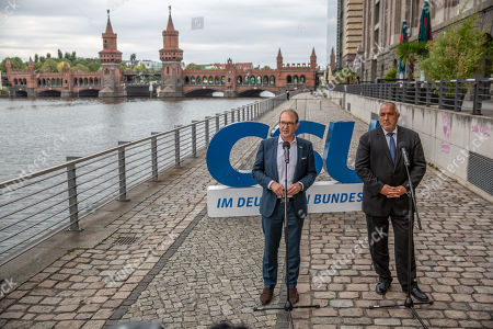 Editorial picture of Boyko Borrisov at the CSU Bundestag faction convention, Berlin, Germany - 03 Sep 2019