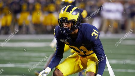 Michigan defensive back Vincent Gray (31) during an NCAA football game on in Ann Arbor, Mich
