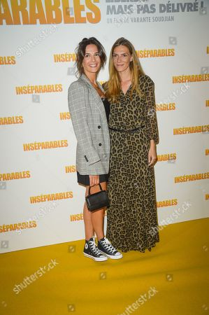 Editorial image of 'Inseparables' film premiere, Paris, France - 02 Sep 2019