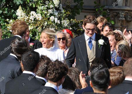 Ellie Goulding and Caspar Jopling