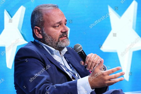 Maltese politician Christian Cardona attends the 29th Economic Forum in Krynica-Zdroj, southern Poland, 03 September 2019. 'The Europe of Tomorrow. 'Strong' Meaning What?? is the motto of the 29th Economic Forum. Some 4,500 international guests are expected to attend. The Forum's mission is to create a favourable climate for the development of political and economic cooperation between the EU member states and their neighbours. The Forum will run until 05 September.