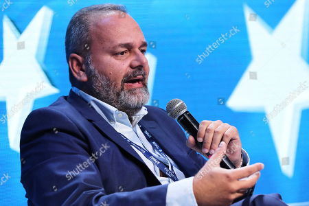 Stock Photo of Maltese politician Christian Cardona attends the 29th Economic Forum in Krynica-Zdroj, southern Poland, 03 September 2019. 'The Europe of Tomorrow. 'Strong' Meaning What?? is the motto of the 29th Economic Forum. Some 4,500 international guests are expected to attend. The Forum's mission is to create a favourable climate for the development of political and economic cooperation between the EU member states and their neighbours. The Forum will run until 05 September.