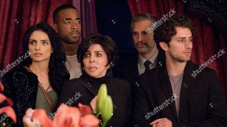 Aislin Derbez as Elena de la Mora, Sawandi Wilson as Dominique Shaw, Veronica Castro as Virginia de la Mora, Juan Pablo Medina as Diego Olvera and Darío Yazbek Bernal as Julian de la Mora