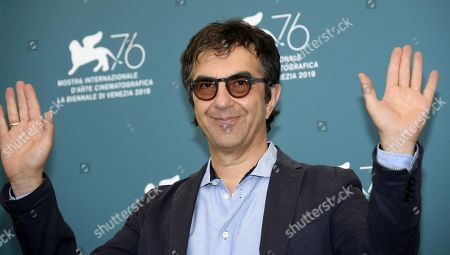 Stock Image of Atom Egoyan poses at a photocall for 'Guest of Honor' during the 76th annual Venice International Film Festival, in Venice, Italy, 03 September 2019. The movie is presented in the official competition 'Venezia 76' at the festival running from 28 August to 07 September.
