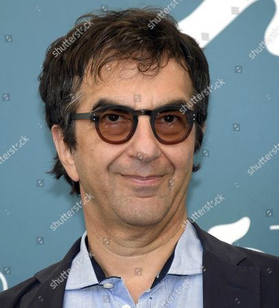 Atom Egoyan poses at a photocall for 'Guest of Honor' during the 76th annual Venice International Film Festival, in Venice, Italy, 03 September 2019. The movie is presented in the official competition 'Venezia 76' at the festival running from 28 August to 07 September.