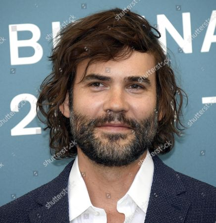 Rossif Sutherland poses at a photocall for 'Guest of Honor' during the 76th annual Venice International Film Festival, in Venice, Italy, 03 September 2019. The movie is presented in the official competition 'Venezia 76' at the festival running from 28 August to 07 September.