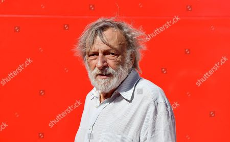Gino Strada, founder of the aid group Emergency, arrives for a premiere of 'Beyond the Beach The Hell and the Hope' during the 76th annual Venice International Film Festival, in Venice, Italy, 03 September 2019. The movie is presented in the 'Sconfini' section at the festival running from 28 August to 07 September.