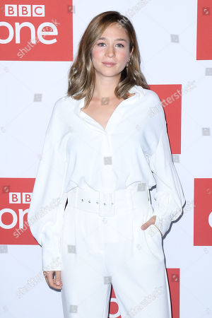 Zofia Wichlacz at the BFI premiere of BBC drama series World On Fire