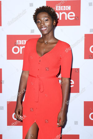 Stock Image of Yrsa Daley-Ward at the BFI premiere of BBC drama series World On Fire