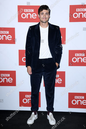 Stock Photo of Jonah Hauer-King at the BFI premiere of BBC drama series World On Fire