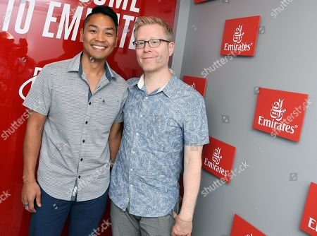 Ken Ithiphol and Anthony Rapp