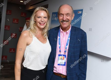 Stock Image of Nancy Clark and Stan Smith