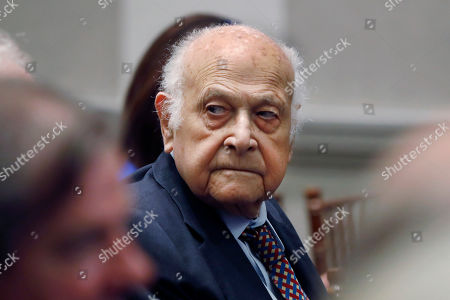 Stock Image of Maurice Tempelsman attends a talk by former U.S. Secretary of Defense Jim Mattis at the Council on Foreign Relations, in New York