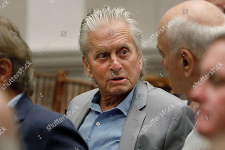Editorial picture of Michael Douglas, New York, USA - 03 Sep 2019