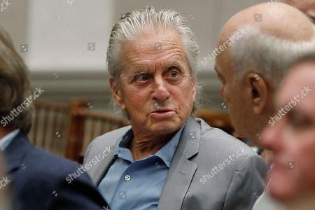 Editorial image of Michael Douglas, New York, USA - 03 Sep 2019