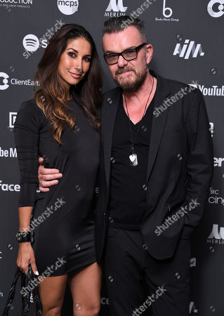 Leilani Dowding and Billy Duffy