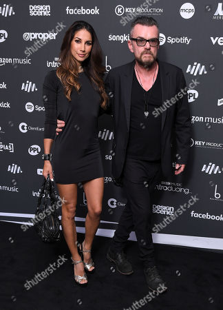 Stock Photo of Leilani Dowding and Billy Duffy