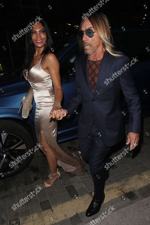 Nina Alu and Iggy Pop