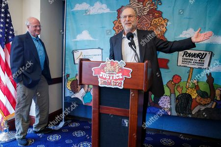 Editorial photo of Ben Cohen and Jerry Greenfield, Co-Founders of Ben & Jerry's, unveil the company's newest flavor Justice ReMix'd, Washington, USA - 03 Sep 2019
