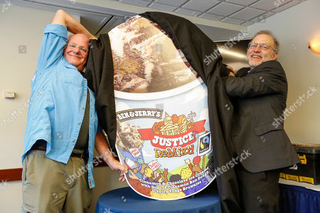 Editorial picture of Ben & Jerry's Justice Remix'd Flavor Highlights Criminal Justice Reform, Washington, USA - 03 Sep 2019