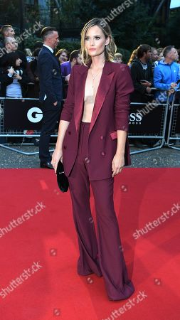 British DJ Charlotte de Carle arrives for the GQ Men Of The Year Awards 2019 ceremony in London, Britain, 03 September 2019. The awards are presented by international monthly men's magazine GQ.