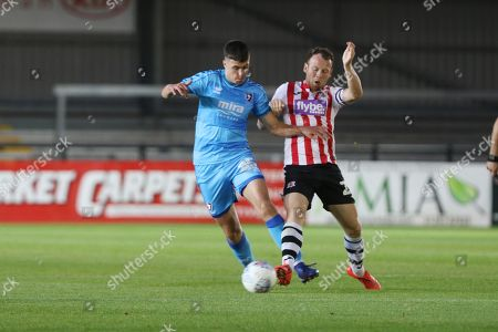 Editorial picture of Exeter City v Cheltenham Town, EFL Trophy - 03 Sep 2019