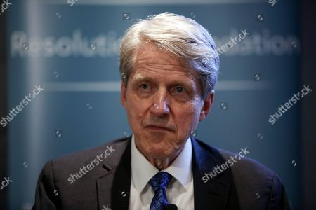 Stock Photo of Robert J. Shiller, author and Nobel Prize winner