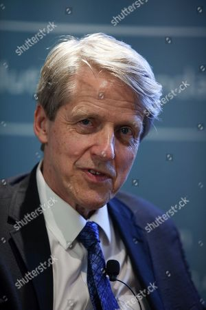 Stock Image of Robert J. Shiller, author and Nobel Prize winner