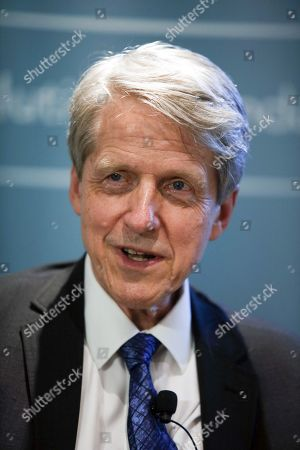 Stock Picture of Robert J. Shiller, author and Nobel Prize winner