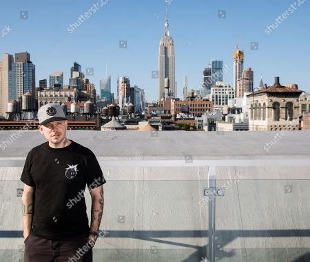 Rene Perez Joglar, know professionally as Residente, poses for a portrait in New York