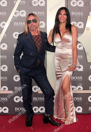 Stock Image of Iggy Pop and Nina Alu